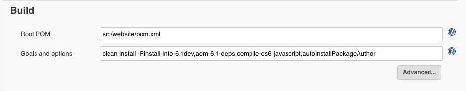 Jenkins Build Example